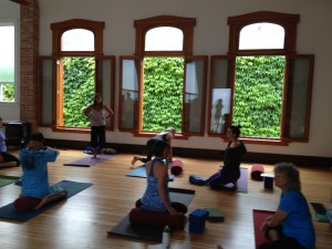 YogAlign Teacher Training course at the beautiful Shanti Yoga Studio in Nelson, B.C. July 2014