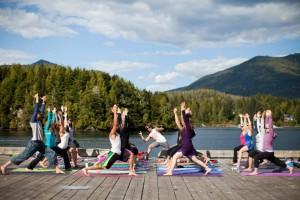 Yoga practice with Eoin Finn
